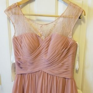 Azazie Dusty Rose Bridesmaids Dress